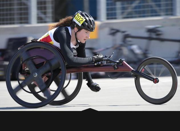 Athlétisme - Course en fauteuil 1