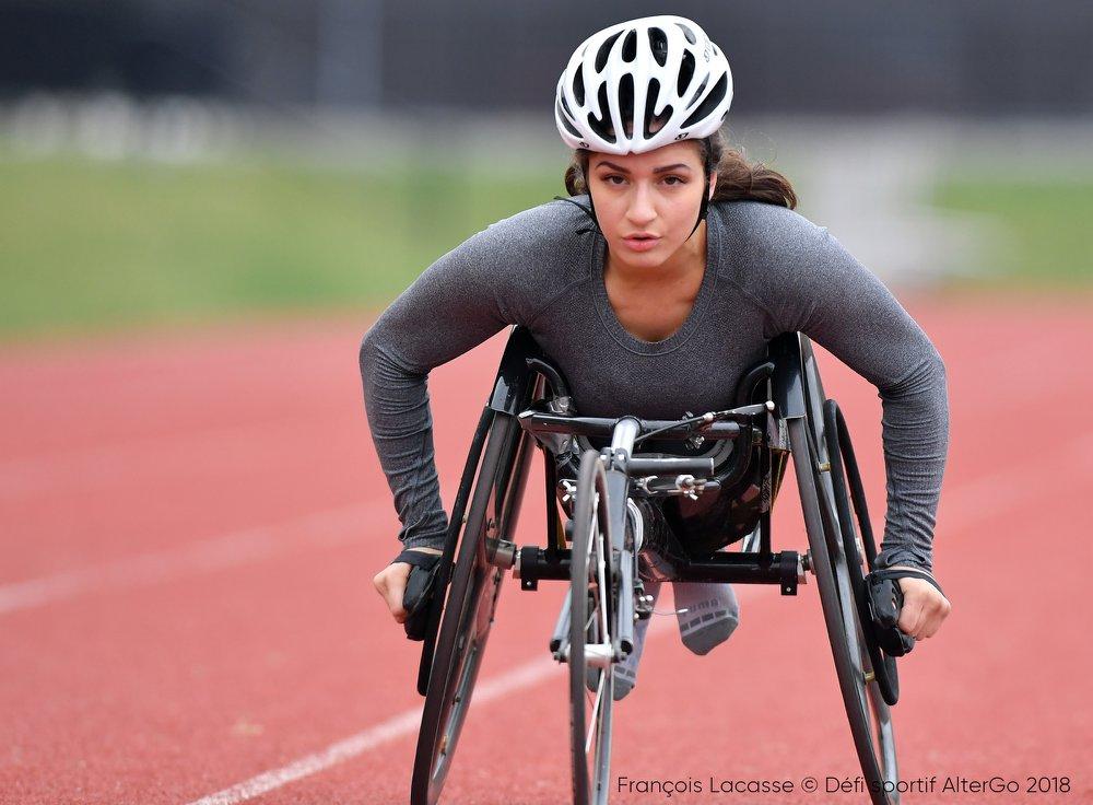 Sarah White, athlète de course en para athlétisme