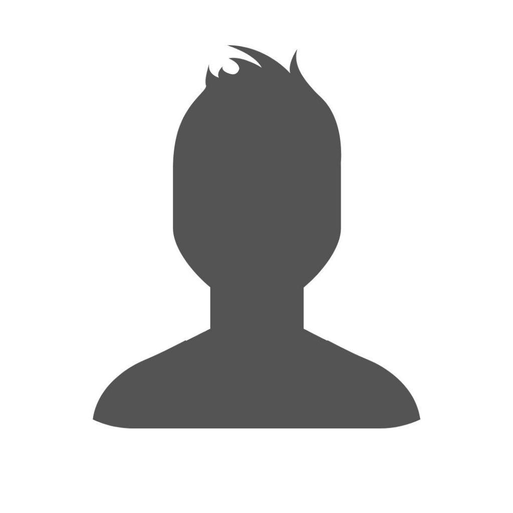 icone auteur homme sans photo